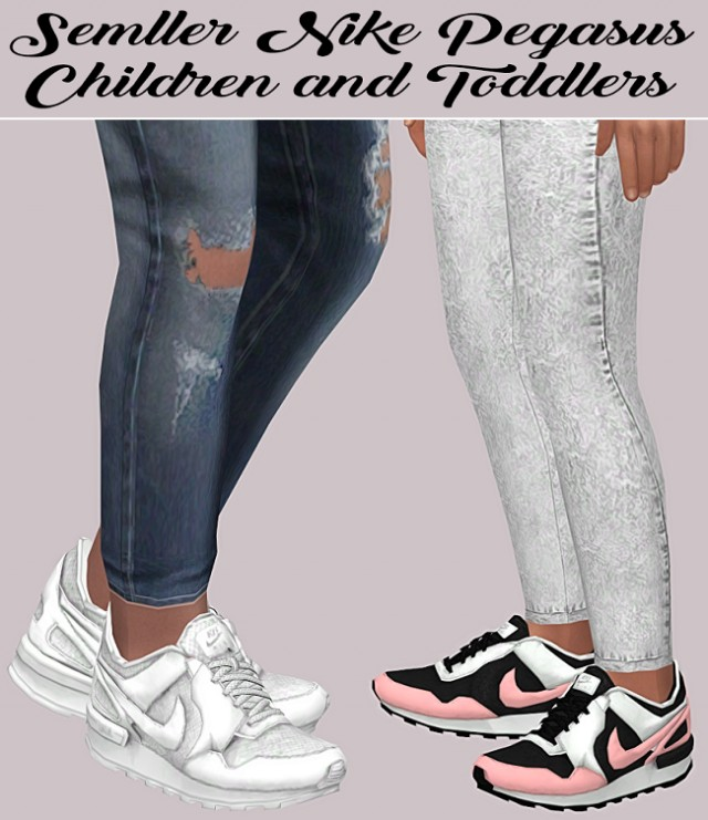Semller Nike Pegasus Children and Toddlers by Lumy-sims