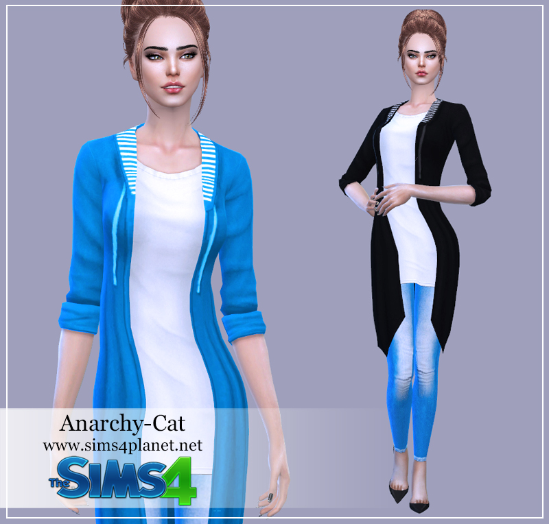 Clothing for females #Sky by Anarchy-Cat