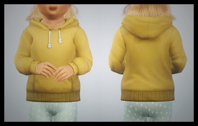 Hoodie and pedal pushers 4t3 conversion by deggdegg