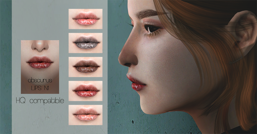 Lips by Obscurus