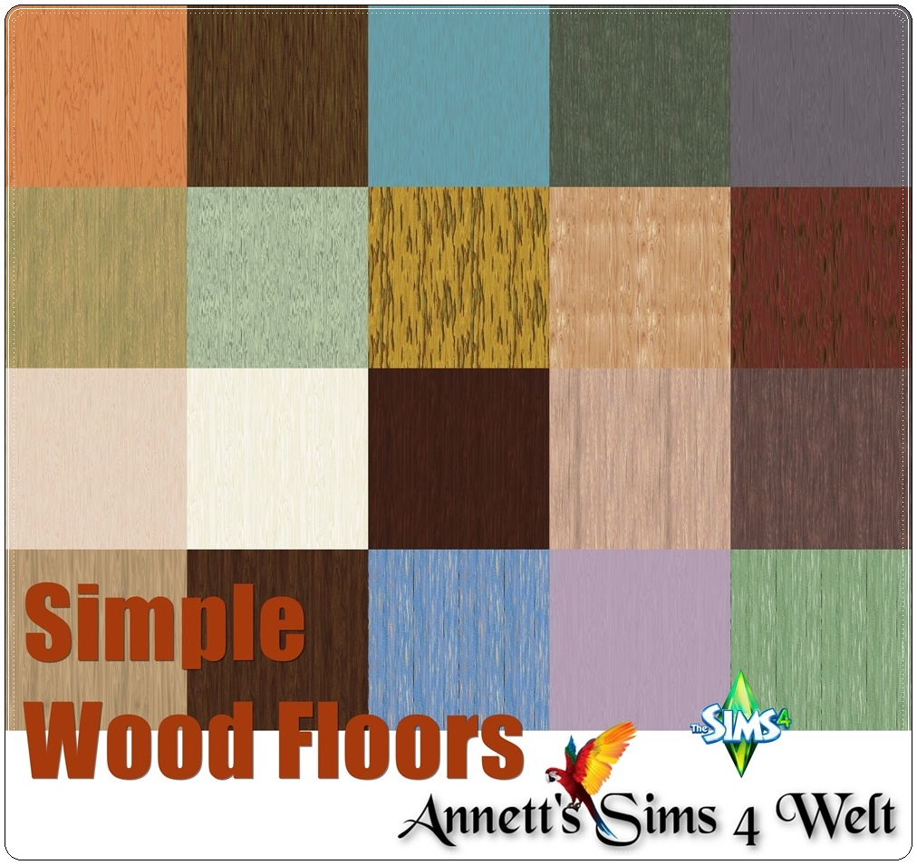 Simple Wood Floors by Annett85