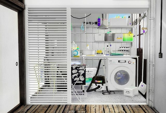 Laundry Clutter by Slox