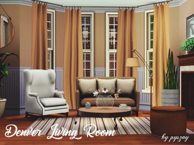 Denver Living Room by pyszny16