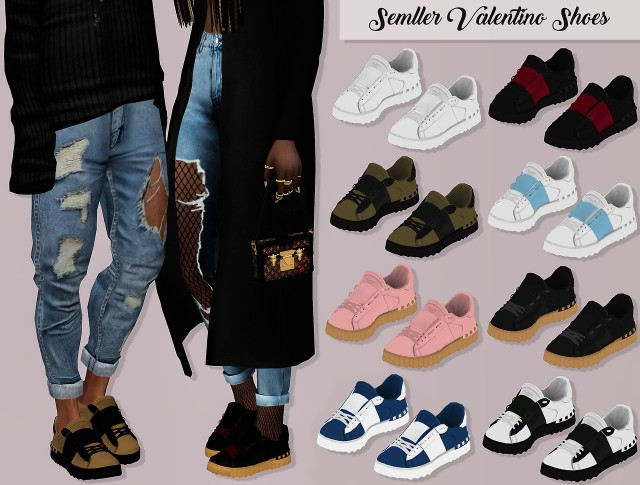 Semller Valentino Shoes by lumy-sims