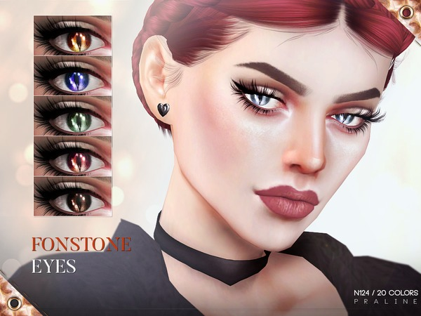Fonstone Eyes N124 by Pralinesims