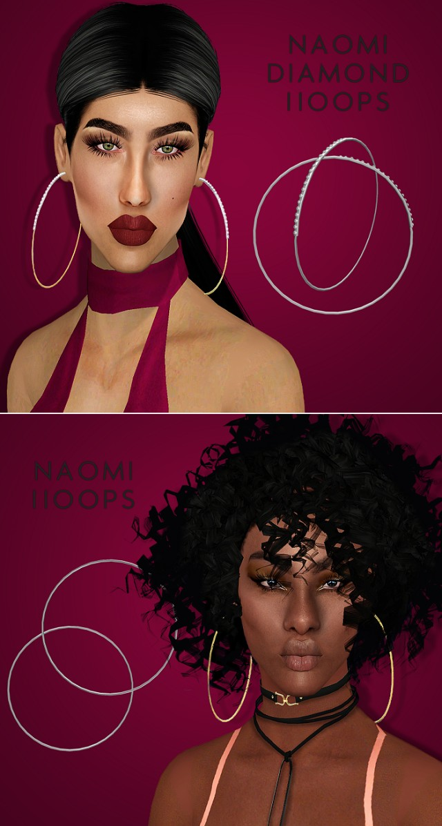 Naomi Hoops by Vittler Universe