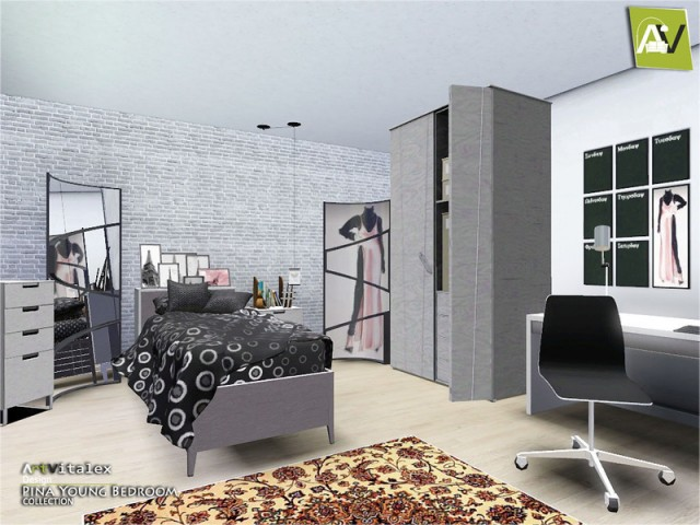 Pina Young Bedroom by ArtVitalex