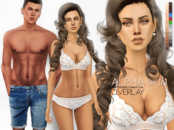 PS Alpha Skin Overlay by Pralinesims