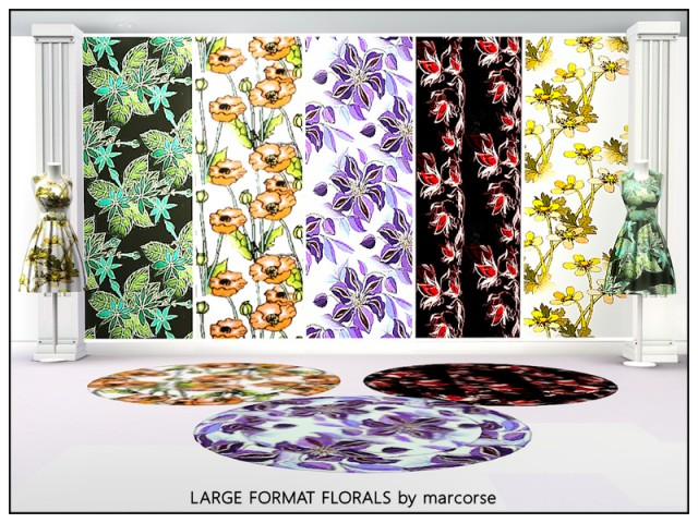 Large Format Florals by marcorse
