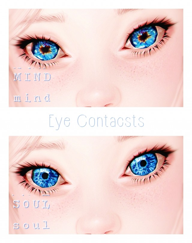 Mind&Soul Eye Contacts by Alhajero