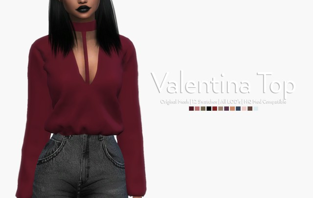 Valentina Top by novasim