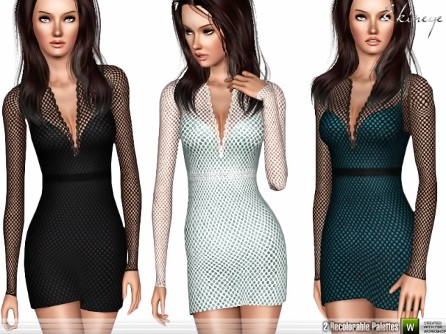 Fishnet Dress by ekinege