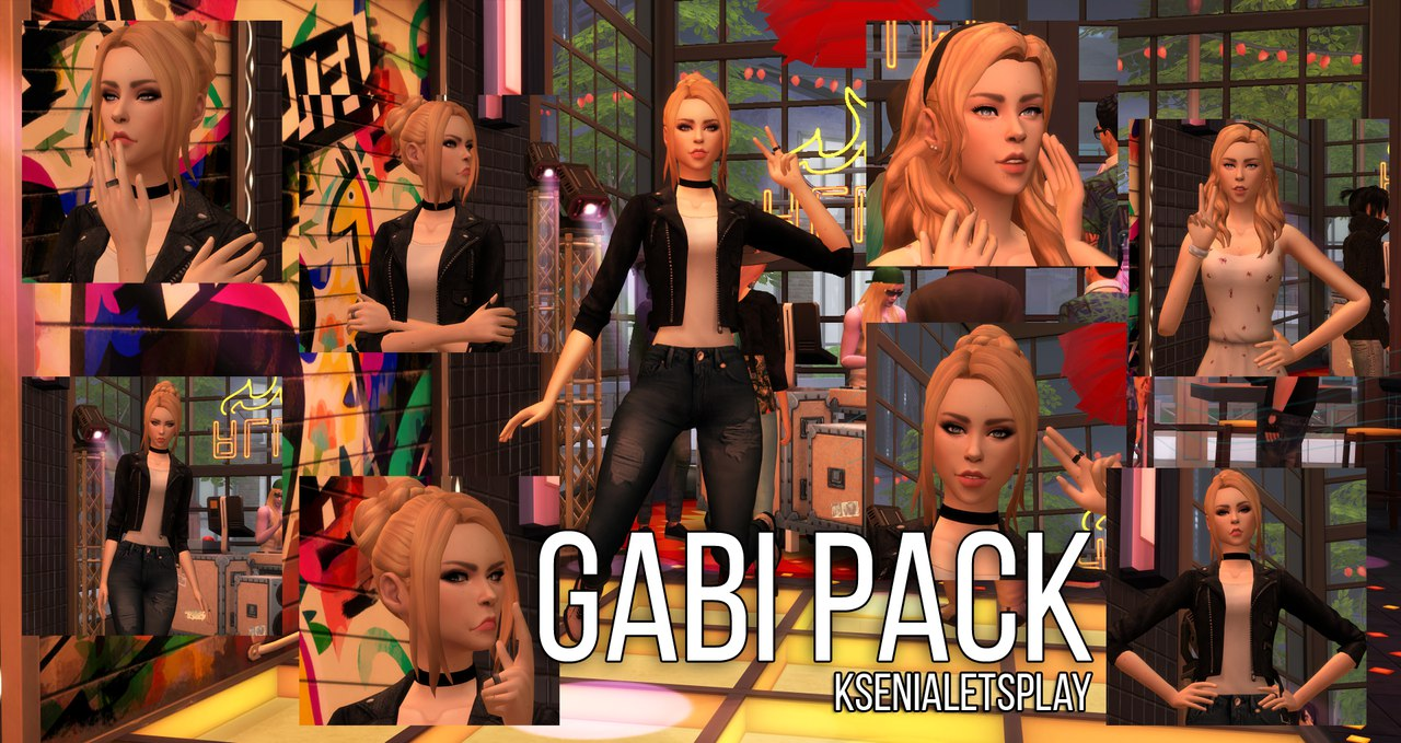 Gabi Pack by KseniaLetsPlay