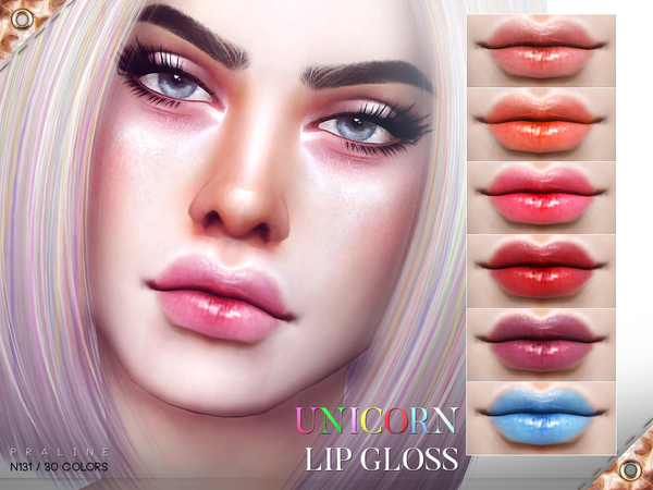 Unicorn Lip Gloss N131 by Pralinesims