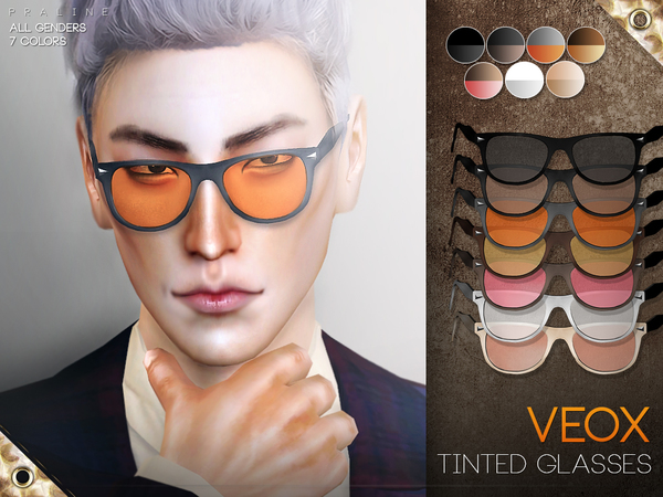 VEOX Tinted Glasses by Pralinesims
