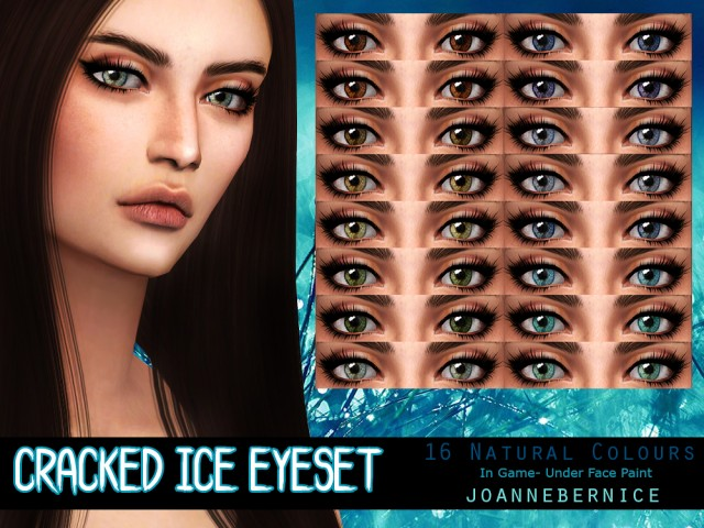 CRACKED ICE EYESET by joannebernice