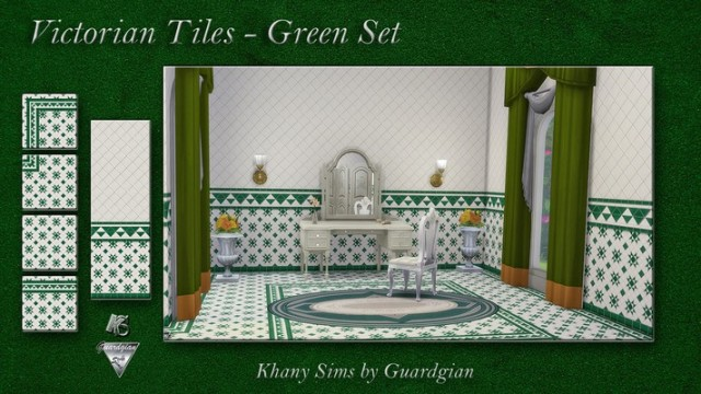 Victorian Tiles by Guardgian
