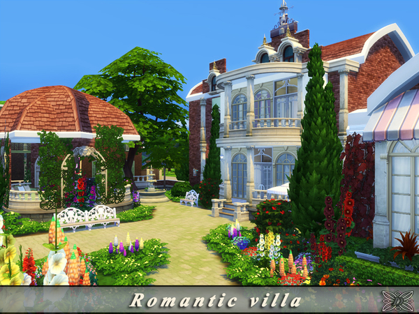 Romantic villa by Danuta720