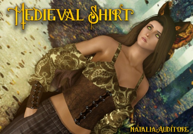 Medieval F Shirt by natalia-auditore