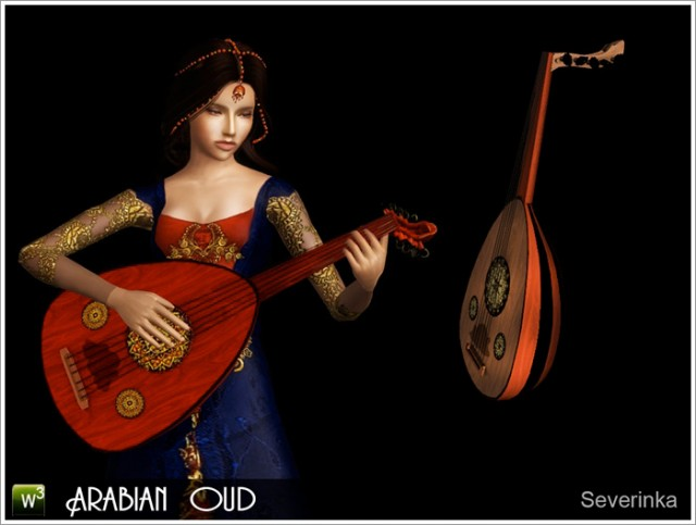 Arabian oud by Severinka