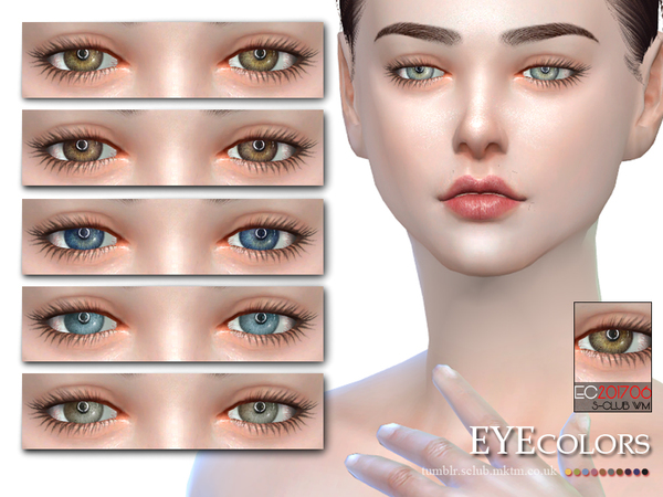 S-Club WM ts4 Eyecolors 201706