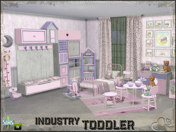 Toddler Room Industry by BuffSumm