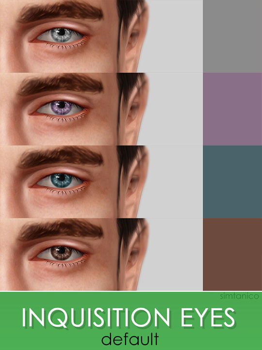 INQUISITION EYES default by Simtanico