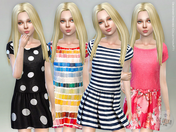 Designer Dresses Collection P71 by lillka