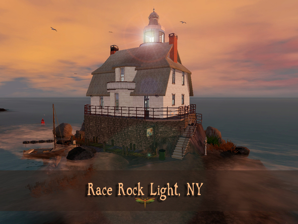 Race Rock Light by fredbrenny