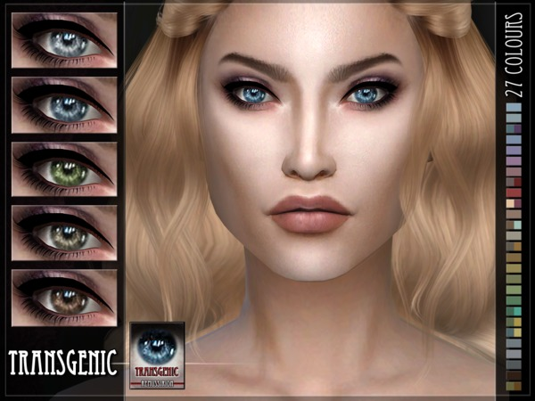 Transgenic Eyes - Default & Facepaint by RemusSirion