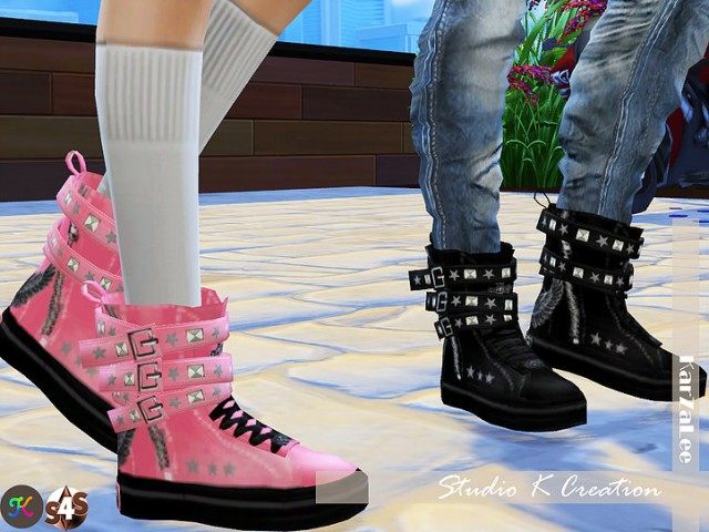 Backle Sneakers by Karzalee