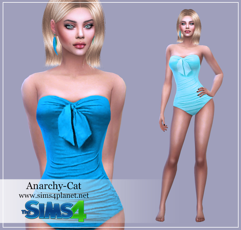 Swimsuit #1 by Anarchy-Cat
