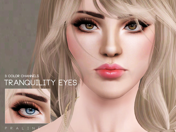 Tranquility Eyes by Pralinesims