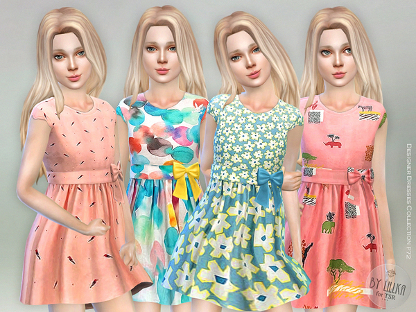 Designer Dresses Collection P72 by lillka