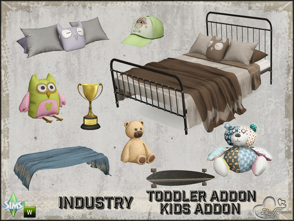 Toddler and Kids Addon Set by BuffSumm