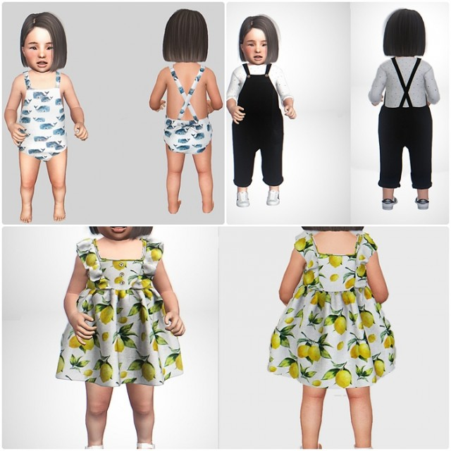 Clothes collection for toddlers by LMGFI