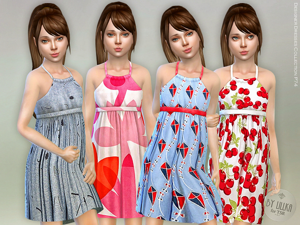 Designer Dresses Collection P74 by lillka