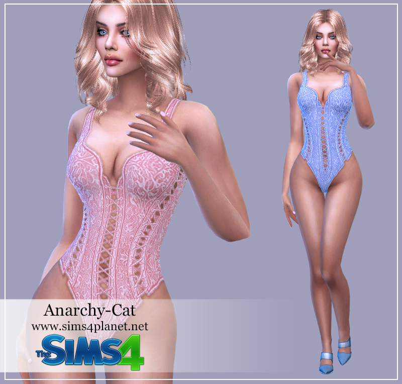 Mia8 Womens corset by Anarchy-Cat