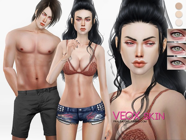 PS Veox Skin by Pralinesims