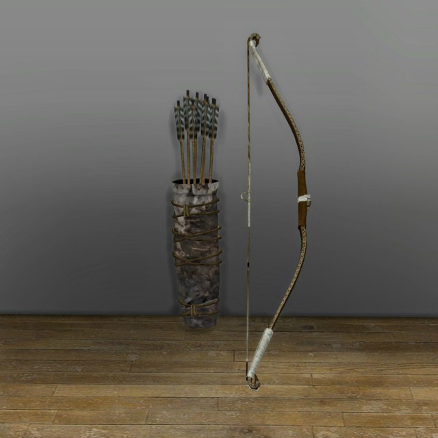 Bow and Quiver by Leo Sims