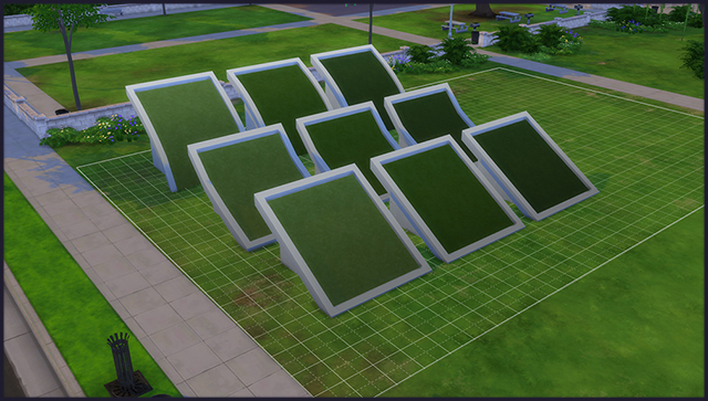 Grass Roof Texture - 3 shades by Mastertiti