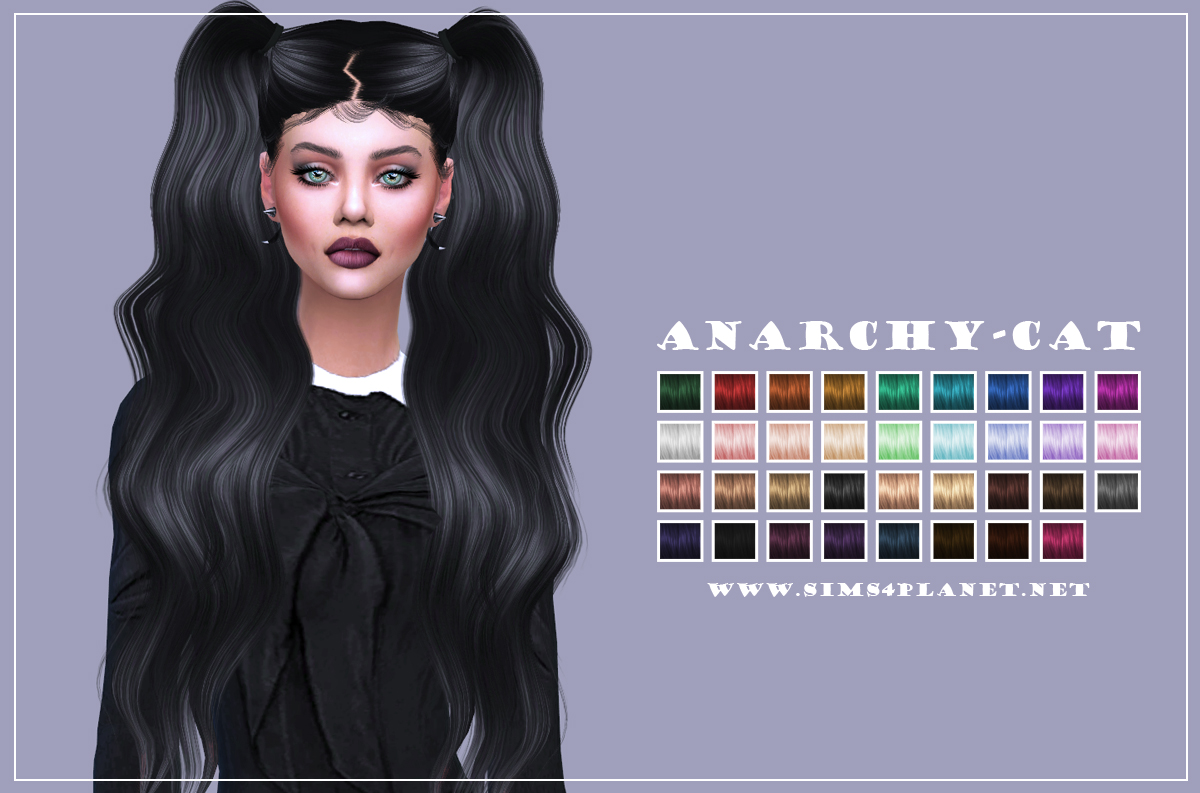 Leah Lillith Trendsetter Hair by Anarchy-Cat