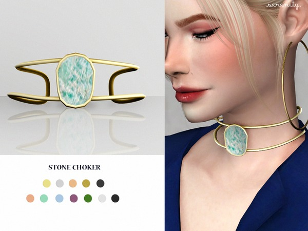 stone choker by serenity-cc