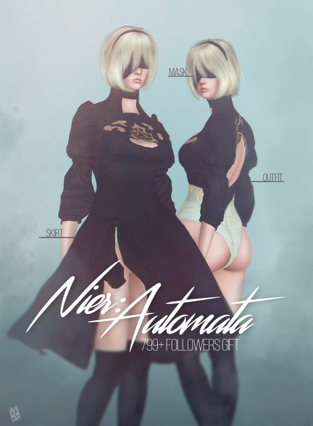 Nier: Automata 2B outfit by Avirein