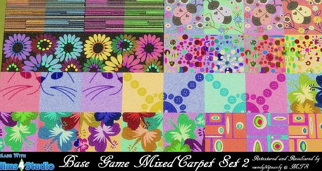 Base Game Mixed Carpet Set 2 by wendy35pearly