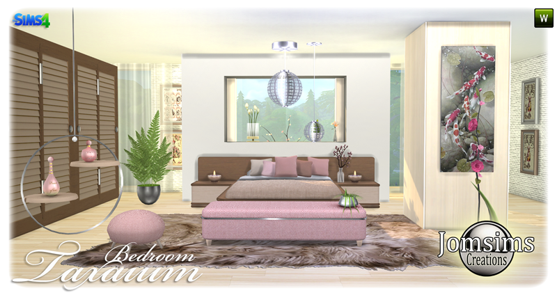 Taxaium Bedroom Set by JomSims