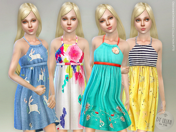 Designer Dresses Collection P75 by lillka