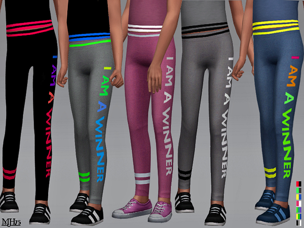 S4 Mia Sports Leggings [Child] by Margeh-75