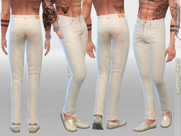 Summer Jeans For Men by Pinkzombiecupcakes