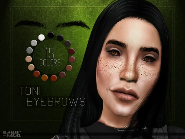 Toni Eyebrows by Blahberry Pancake